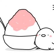 ひよことかき氷1