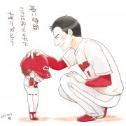 前田様24年間ありがとう!