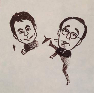 吉川晃司と松井市長のコラボ
