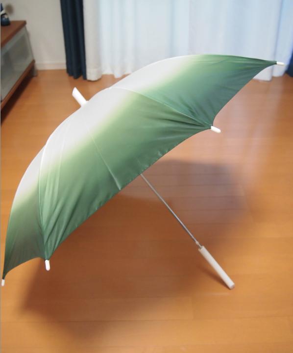 開いた葱傘