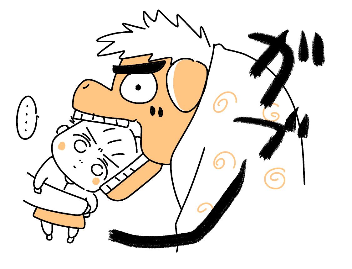 獅子舞に噛まれても泣かないこねぎ