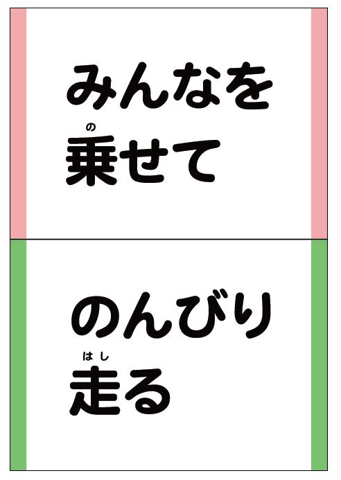 広島キャラクター、広電の電車「にこでん」
