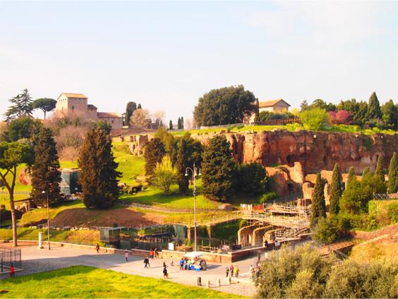 コロッセオの目の前