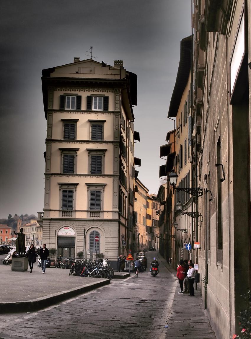 フィレンツェの道