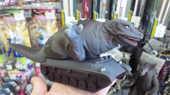 恐竜タンク